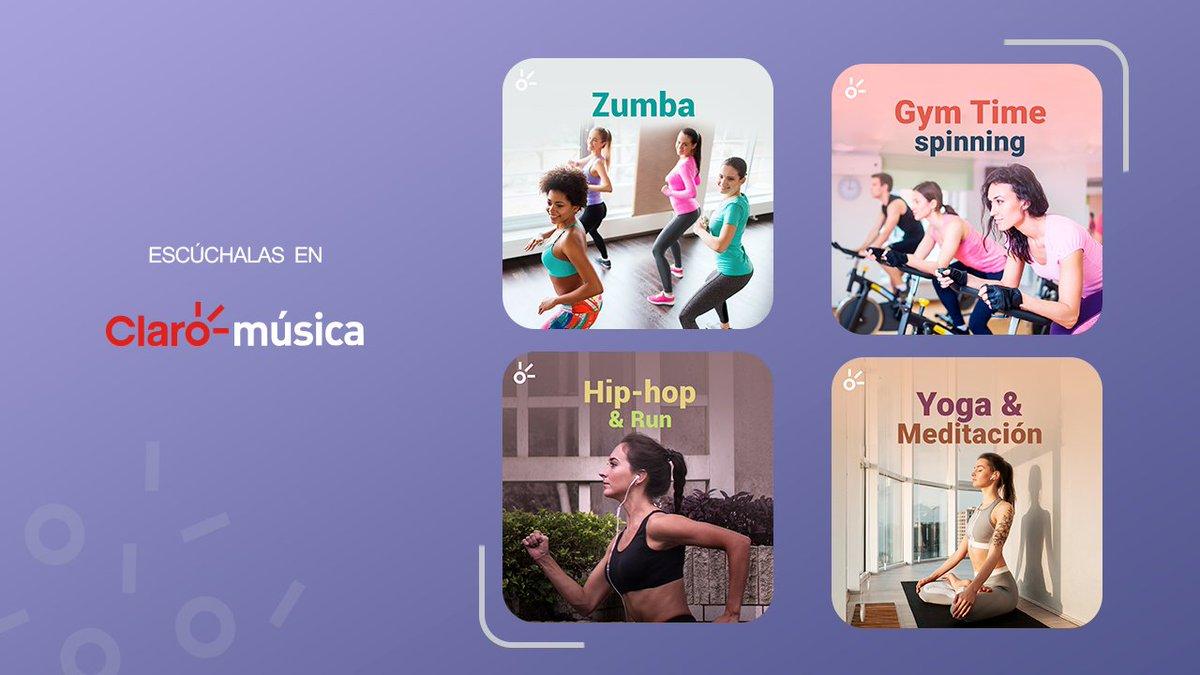 ¡Este 2021 cumple tu propósito de Año Nuevo! 👏 Te ayudamos con estas Playlists. 🎧  Zumba:  Gym Time: Spinning:  Hip-Hop & Run:  Gym Time: Yoga: