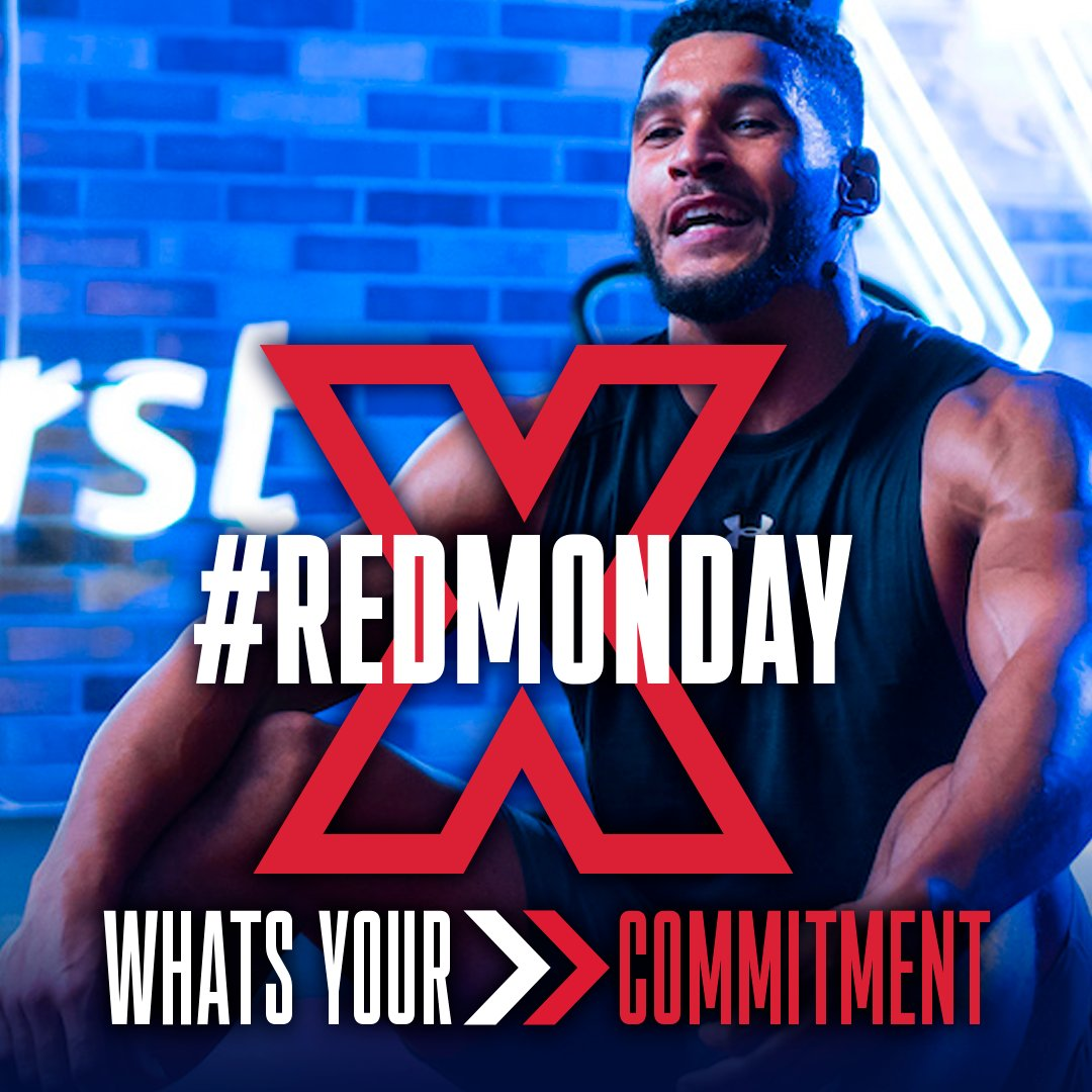 The beast of all Blue Mondays is coming and we've decided to turn it Red with #RedMonday. Because we need all the energy & the positive vibes these days!  Head over to  to discover all things #RedMonday!  #FitX #FitXPlayer #stayfit #stayhealthy #staystrong