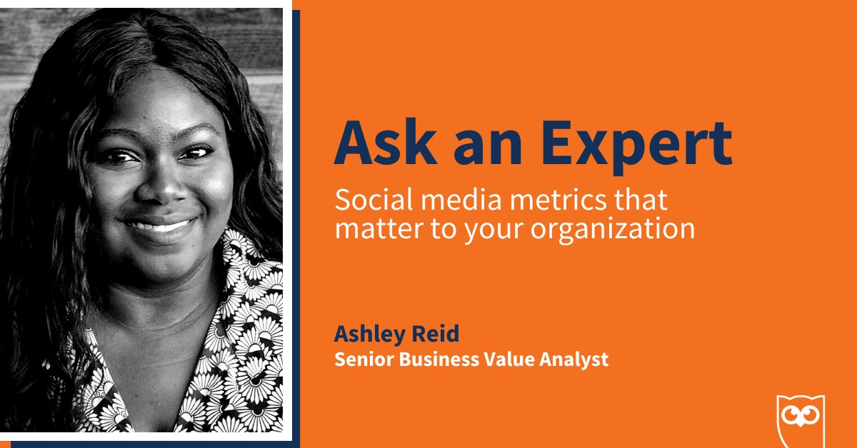 Stop tracking the wrong metrics on social 🛑  In episode 4 of #AskAnExpert, we chatted with Ashley, Sr. Business Value Analyst at Hootsuite, to discover the social metrics that matter most for your organization 📈   Press play and learn from an expert ⏯