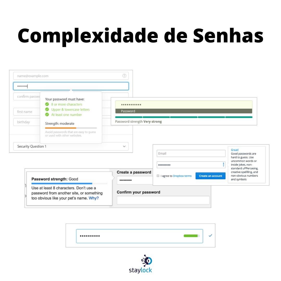 Complexidade da senha de faz eficaz para evitar uma quebra instantânea da mesma comprometendo o ambiente.  #senha #password #passwordsecurity #segurancadedados #hacker #tecnologia #complexidade https://t.co/KubtIcxs5O