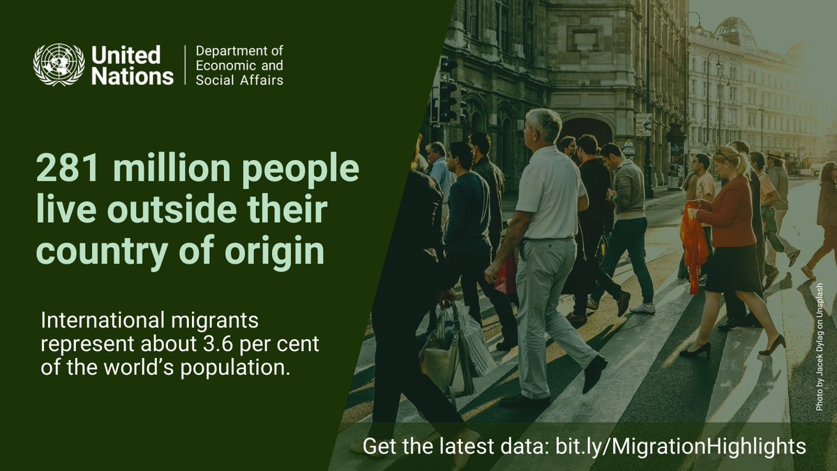 The number of people fleeing violence & persecution is growing more rapidly than the number of migrants moving voluntarily.  Get the latest #UNPopulation data ➡️
