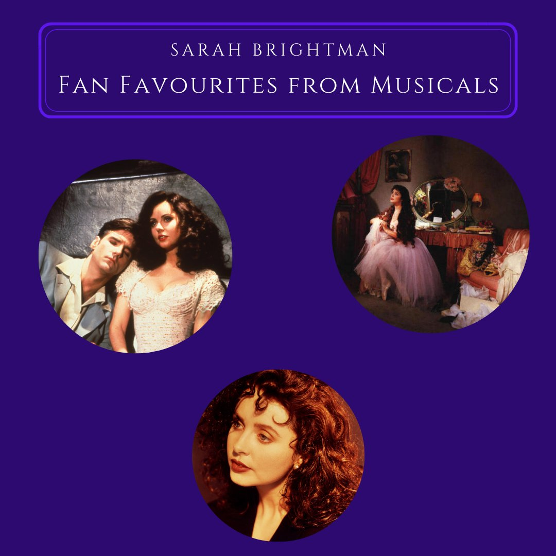 NEW Fan Video: Fan Favourites from Musicals   Share your thoughts about favourite Sarah performances of songs from musicals in the comments at the following link for an opportunity to be featured in a brand-new fan video! https://t.co/cYBkijglnj https://t.co/9bJlqLgTTH