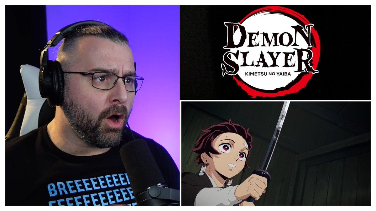 New #DemonSlayer reaction #kimetsunoyaiba #anime