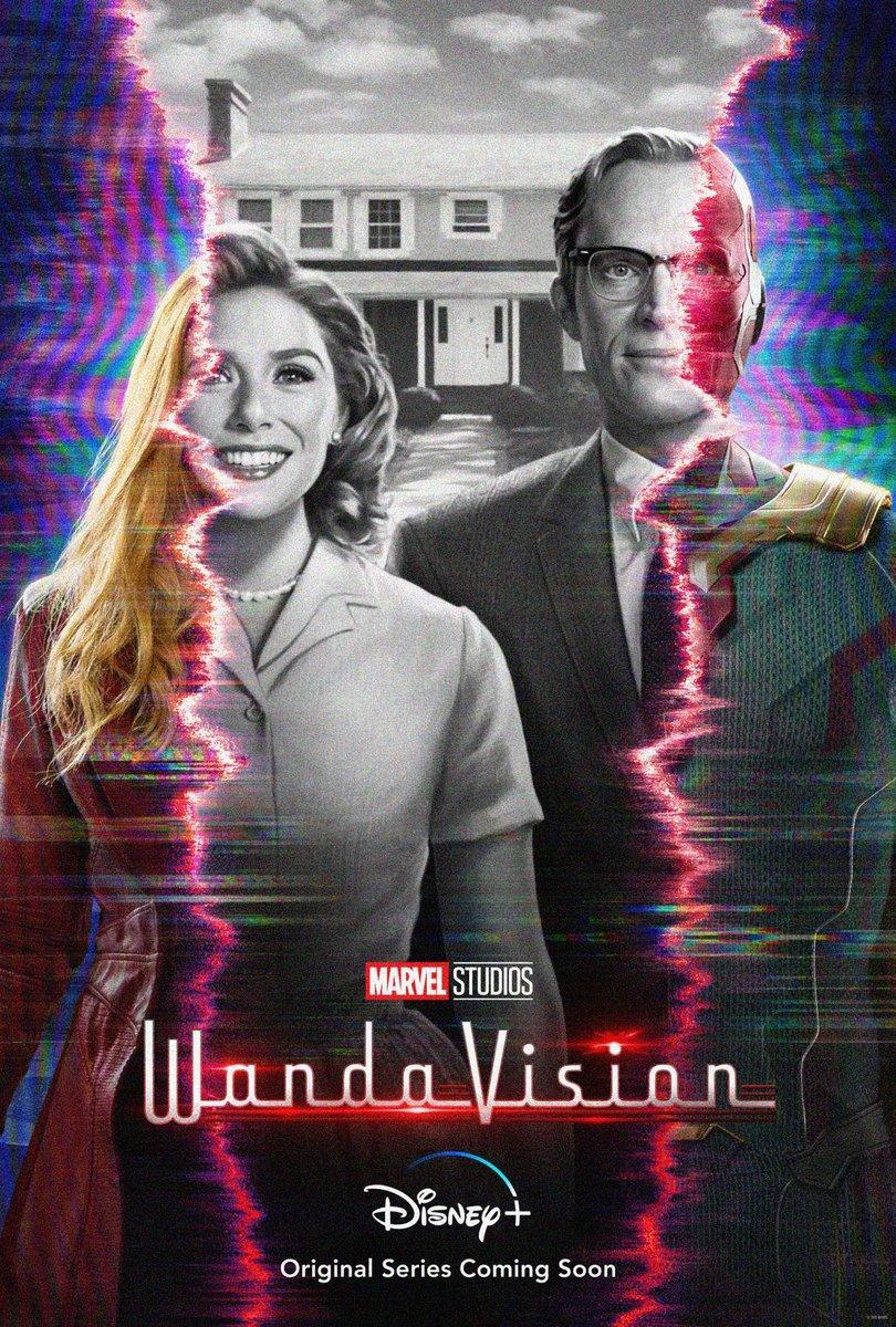 #WandaVision ya disponible en Disney+.