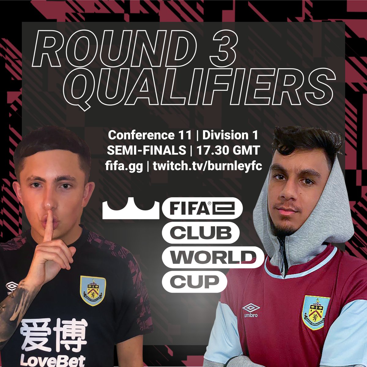 LIVE | Streaming at 5:30pm, our very own @BradColston_  and @Salman_Ahmad_19  compete in the in the @FIFAe  Club World Cup  @fifae  #FIFAeClubWorldCup