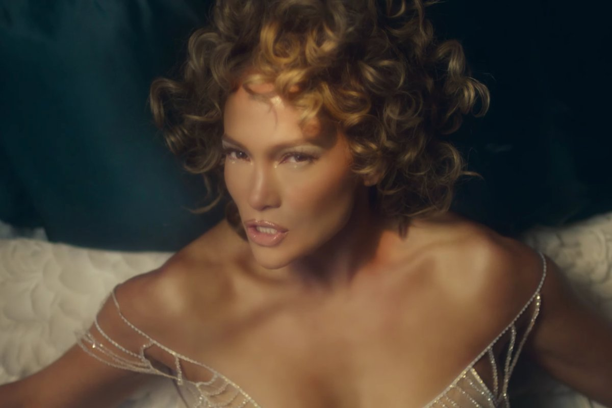 "Jennifer Lopez embraces transformation and change in the new video for her single, ""In the Morning."""