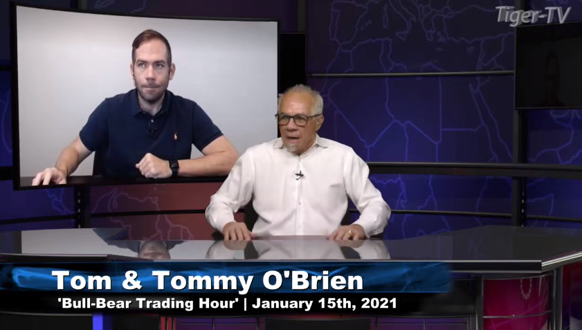 Tommy and Tom O'Brien host the Bull-Bear Trading Hour for Friday on @TFNN and discussed $GC $ES $WMT $TSLA $HL $IWM and more! #Learntotrade #TFNN #StockMarketNews #Financialeducation #TradingView #FridayFinance #StocksToWatch #TradingView