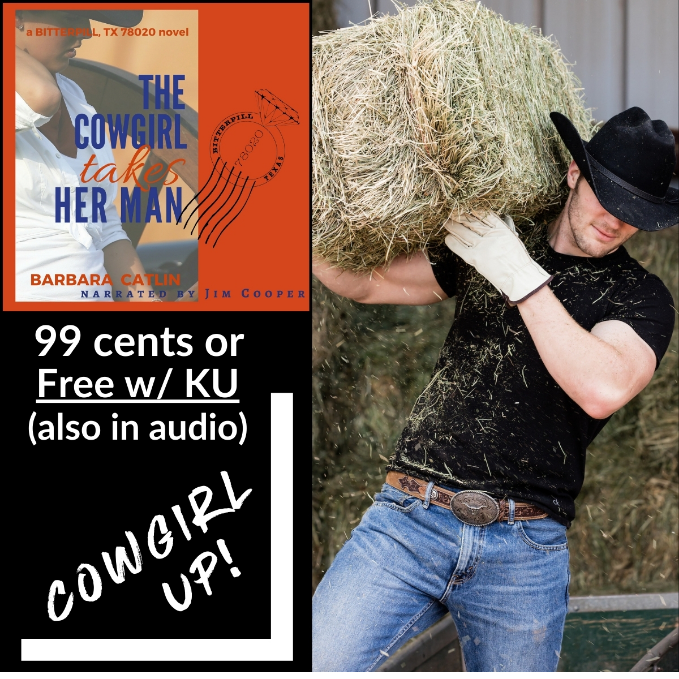 "#99c #SALE #KU ""I absolutely LOVED this book. It is one of those books that is so hard to put down, one that makes you just feel good when you read it."" The Cowgirl Takes Her Man by Barbara Catlin"