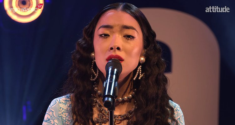 Watch @rinasawayama's exclusive and unseen performance of 'Bad Friend' at the #AttitudeAwards: