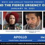 Imagen del comienzo del Tweet: Únase a nosotros y @ApolloTheater para