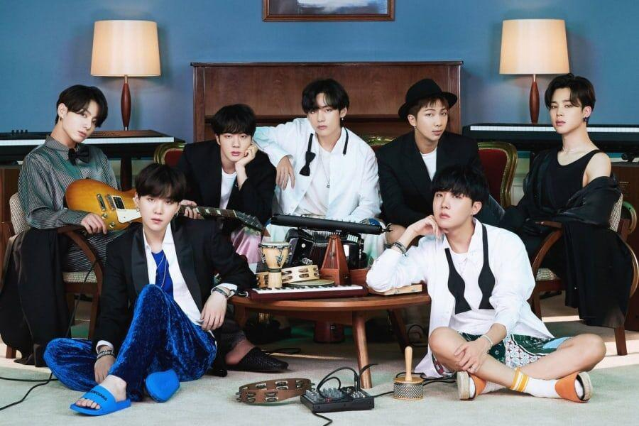 "Replying to @soompi: #BTS's ""BE"" Becomes Their 2nd Korean Album To Go Platinum In Japan"