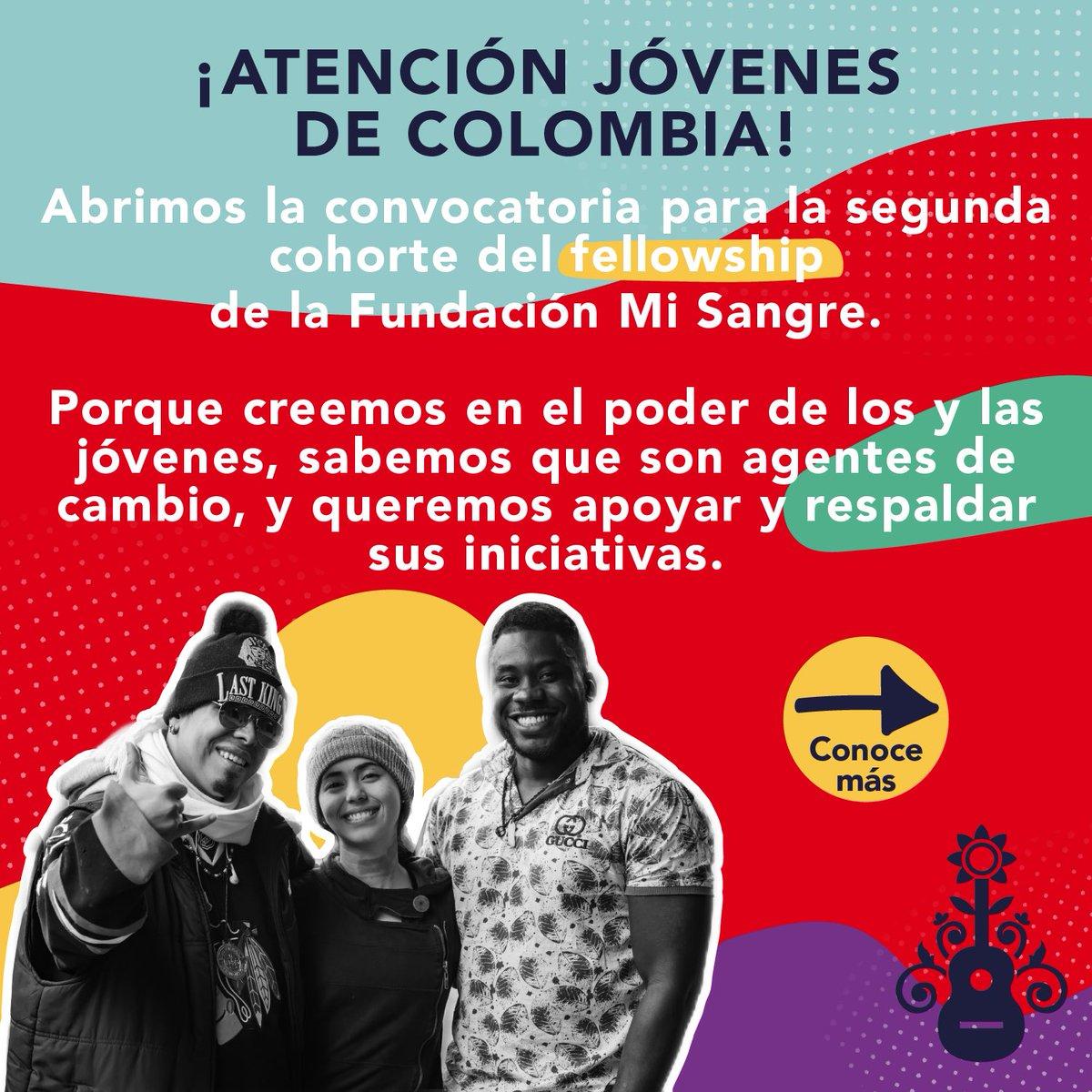 Buscamos 50 jóvenes de Colombia diversos, inquietos, interesados en la transformación social, conscientes de la responsabilidad compartida y de los problemas de sus territorios. Hoy abrimos con la convocatoria para la segunda cohorte del Fellowship.