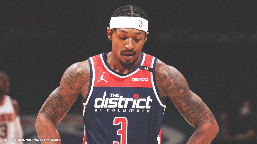 Bradley Beal currently leads the league with 34.9 PPG.   The Wizards are currently 3-8 😬