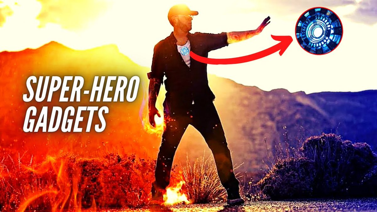 Top 10 Super Hero Gadgets You Can Actually Buy!   Full Video   #fridaymorning #FridayThoughts #gadgets #tech #technology #life #geeky #electronic #amazon #techgadgets #gear