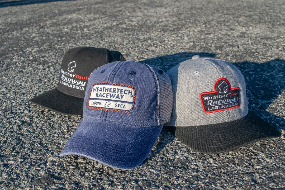 Don't forget that the Official Raceway Store has plenty of hats to wear for #nationalhatday!   Rectangle WRLS Trucker Hat:   Heavy D WRLS Mesh Hat:   Heavy D WRLS Hat:   #lagunaseca #weathertechraceway