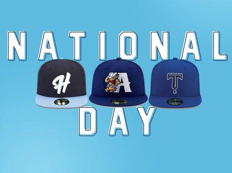 😍😍 #milb #baseball #hat #hats #nationalhatday #rockcity
