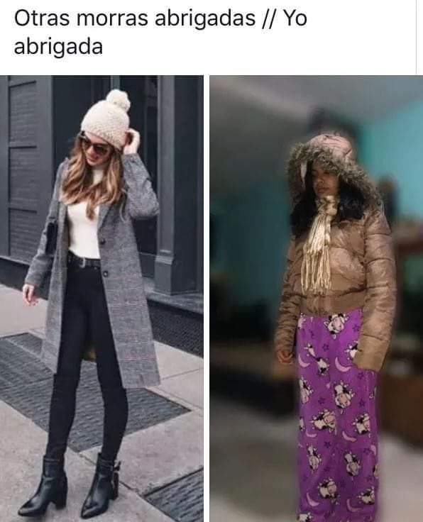Y mientras con el frio ☃️❄  #StyleMx #frio #mexico #coldweather #style #estilo #sotd #moda #fashion #meme #memes #memes2021 #memeenespañol #funny #fun #funfact #funfactfriday #mx #mex #fashionblogger #fashionmag #FashionFriday #Winteriscoming #invierno #invierno2021