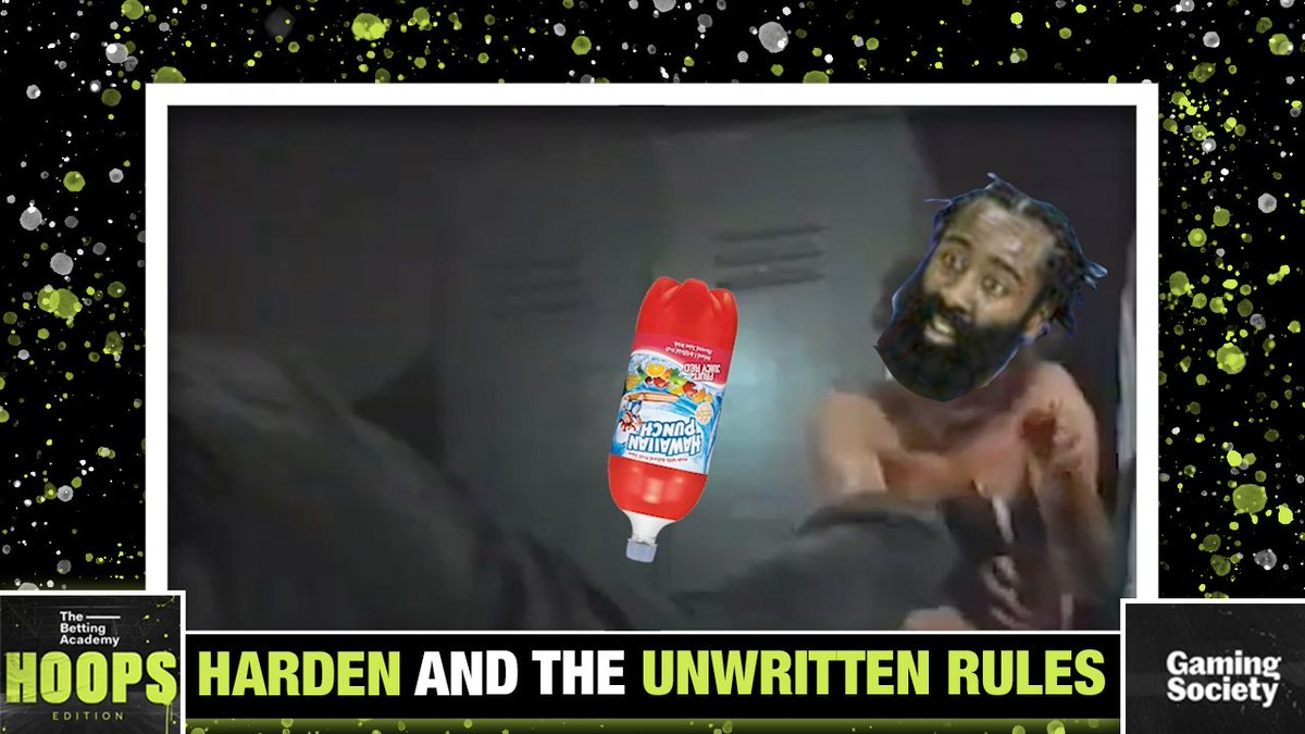 Break the Golden Rule and Fruit Punch goes everywhere! #TheBettingAcademy  @KendrickPerkins & @GinaParadiso react to the James Harden trade: