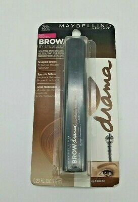 MAYBELLINE Brow Drama by EYESTUDIO Sculpting Brow Mascara 265 Auburn  | eBay  #maybelline #makeup #mascara