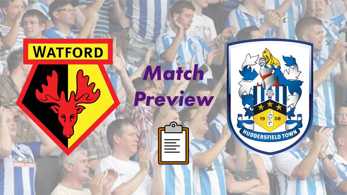⚽ Huddersfield Town Match Preview ⚽  .@htafc will face Watford at Vicarage Road in the Championship on Saturday 16th of January, 3 pm K.O.  ✍️👉   #htafc | #huddersfieldtown | #championship | #kirklees | #KLTV