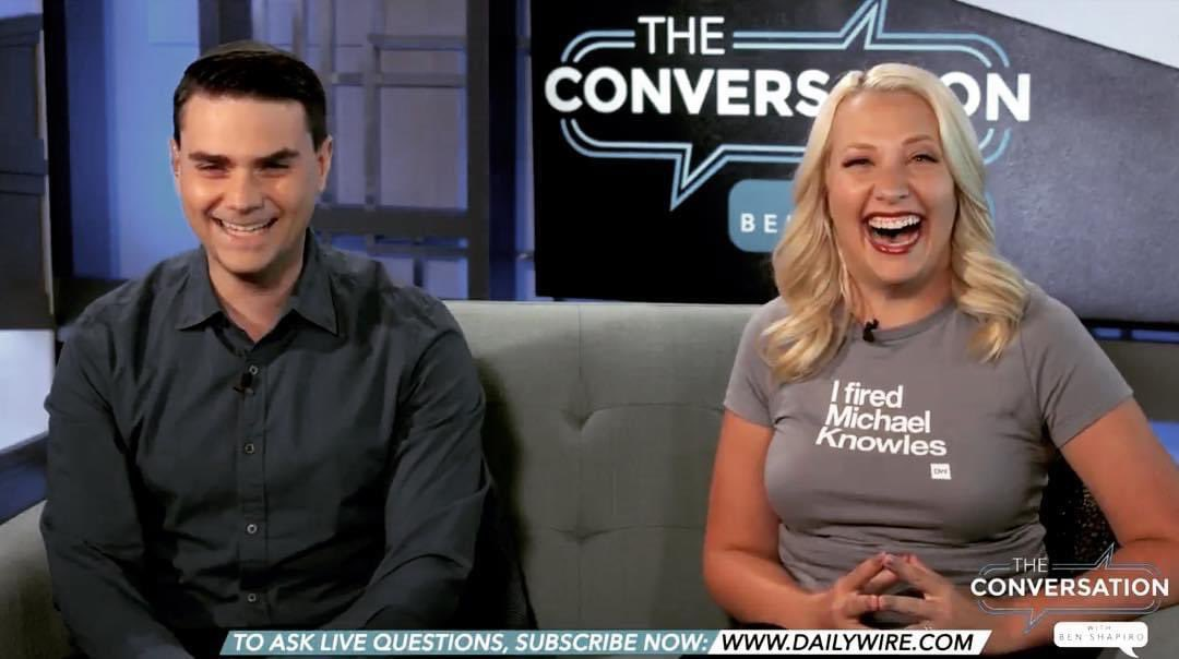 Happy birthday @benshapiro! Wish I could grant your birthday wish and fire @michaeljknowles but it turns out it was just a T-shirt and @JeremyDBoreing says it didn't hold any legal power to actually fire him. 🤷♀️