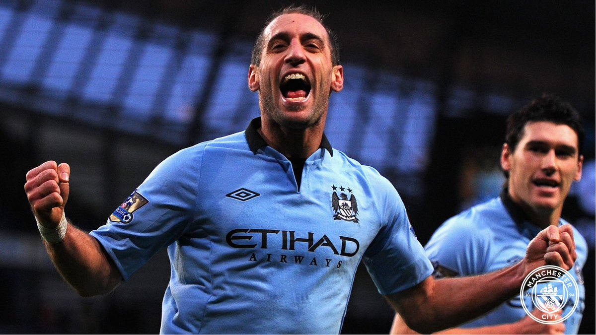 Absolute 𝗪𝗔𝗥𝗥𝗜𝗢𝗥!  Happy birthday to the one and only @pablo_zabaleta 💙  🔷 #ManCity |