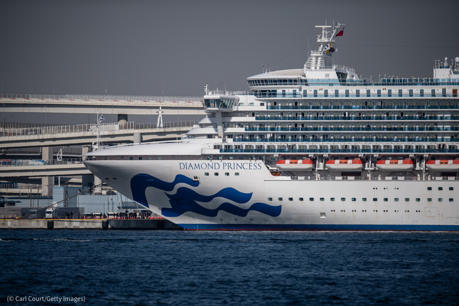 You probably heard about the Diamond Princess cruise ship, quarantined off Japan's coast with 3700 passengers including 220 who were COVID+. Outfitted 2 planes with biocontainment facilities to bring her 329 American passengers home safely.