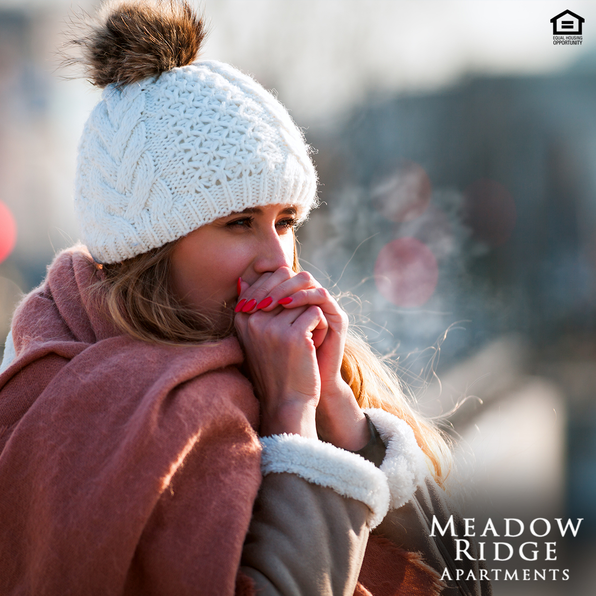 It's not just Friday. It's #NationalHatDay too! Show off your #winterstyle with fur flare! Look cute and be warm! #meadowridge
