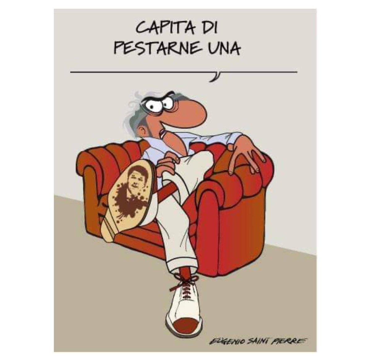 Il narcisismo e la smania di potere hanno indotto #Renzi ad un azzardo di troppo  E oggi gli toccano i giudizi che merita  C'è chi lo fa senza mezzi termini, come Eugenio Saint Pierr  #crisidigoverno  #vignettistiperlacostituzione 🇮🇹