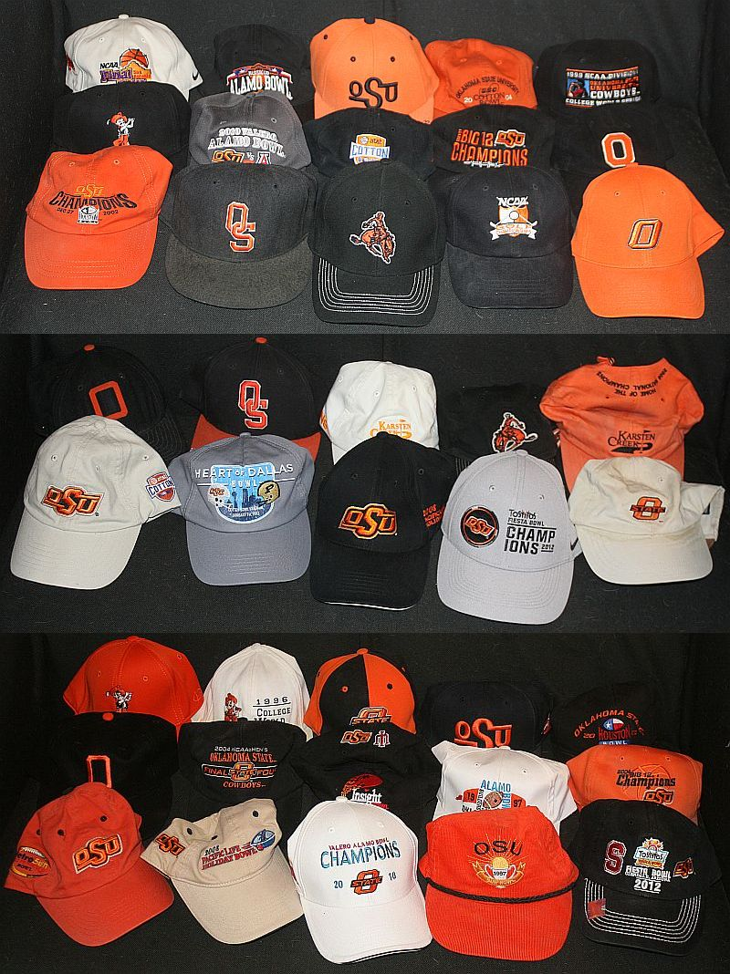 Who decides that today is #NationalHatDay? I am caught off guard. I need to gather up *all* my #okstate hats and re-do this photo #GoPokes