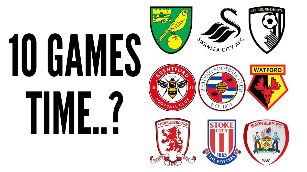6️⃣  How Will The Championship Top 6 Look In 10 Games Time?  🗣️ The Championship is back tomorrow after a break for most teams, I take a look at the next 10 fixtures for those in around and the top 6 to see if anything revealing pops up!  🎥   #Championship
