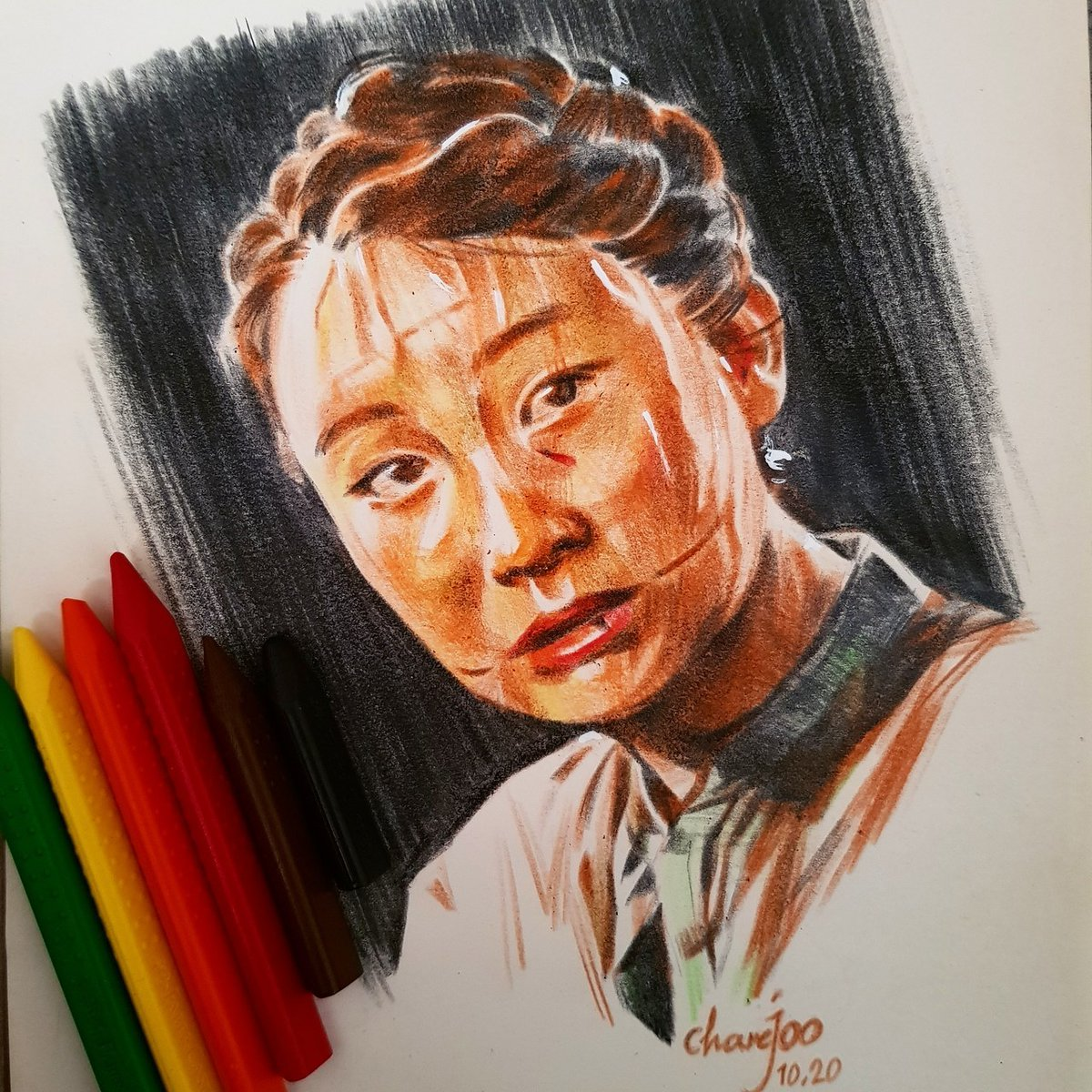 #FanArtFriday: Yara from The Last of Us Part II by Mahyar Charejoo.  Send us your own art, cosplay, and more here: