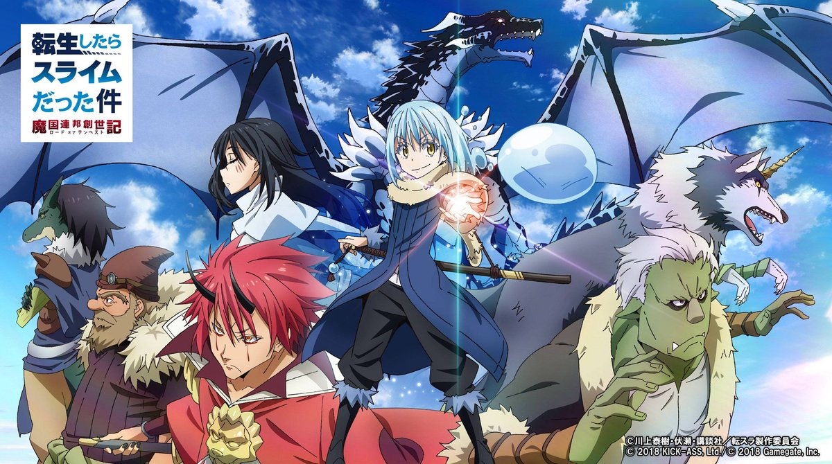 3- That time I got reincarnated as a slime season 1  Score  ➡8/10  This was really good.  Ready for season 2 👊👊 #SlimeAnime https://t.co/bNYH6RPZvt