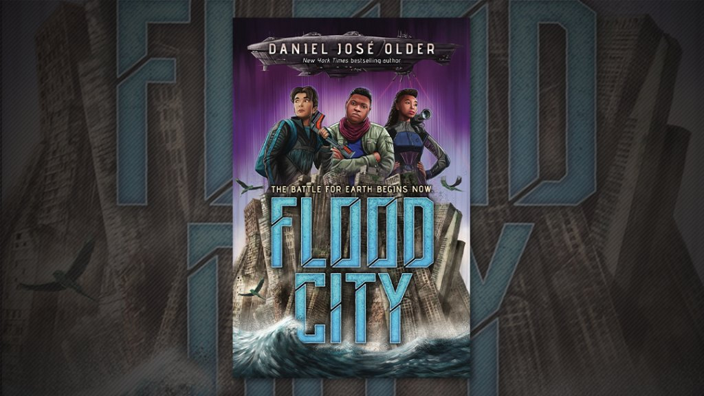 In @djolder's #FloodCity, two enemies will have to work together in order to try to save Earth! Enter for a chance to #WIN a free galley:  On sale 2/2.