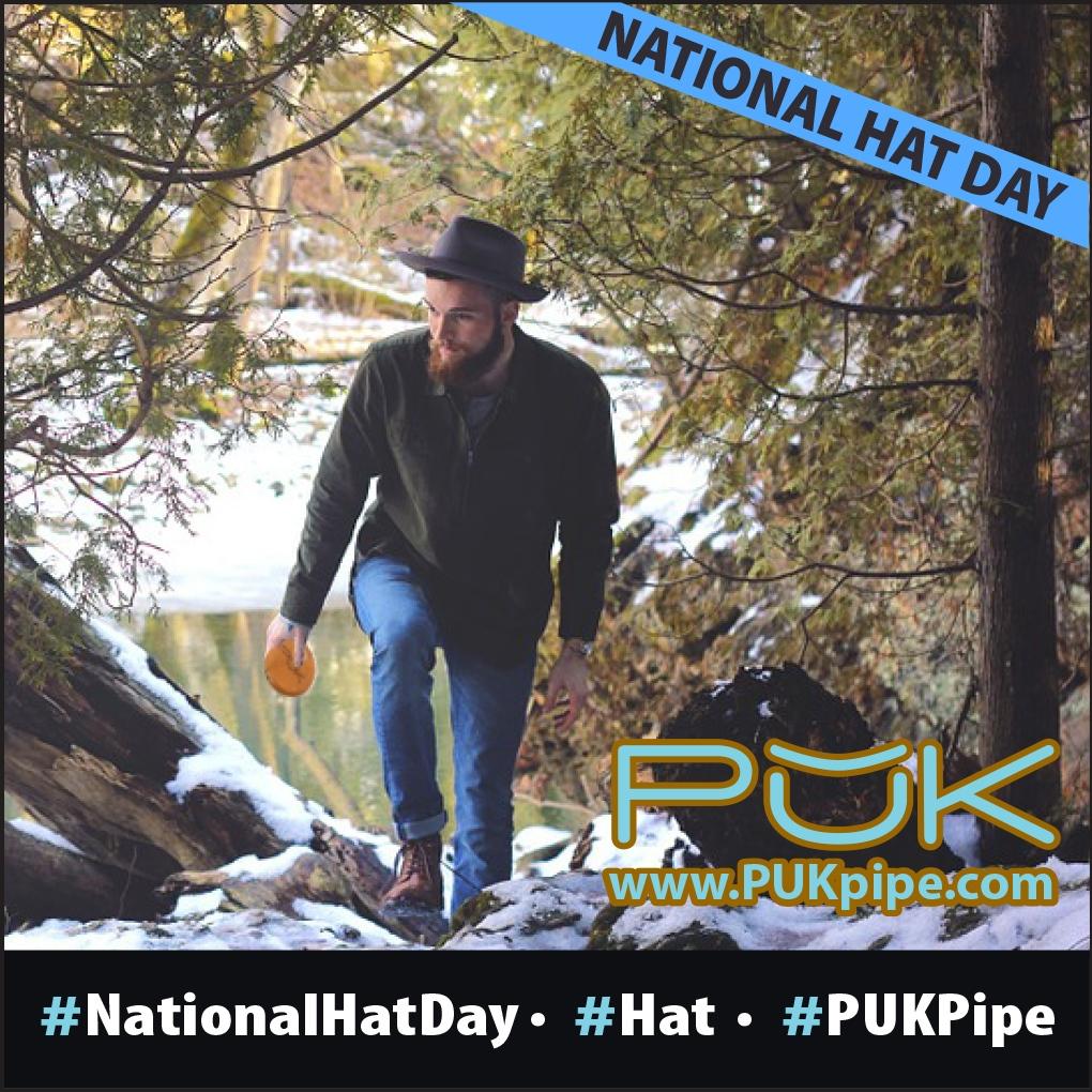 Put on your hat. Smoke your PUK Pipe. b) PUK Pipe c) Both! #hats #hat #hatday #nationalhatday #hatsofinstagram #pukpipe #cannabis #marijuana #cannabiscommunity #cannabisculture #medicalmarijuana