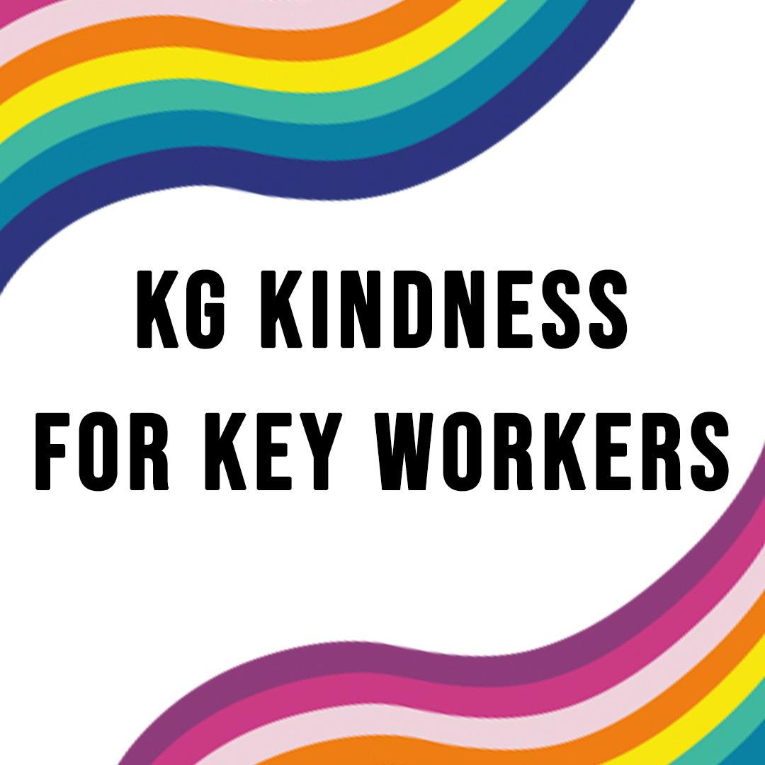 OUR KINDNESS GIVEAWAY!   We're so grateful to key workers across the UK. To show our appreciation, we'll be giving away one £100 e-card every day during lockdown to key workers who you have chosen to nominate. Head to our INSTAGRAM to find out more. #KGKindnessForKeyWorkers https://t.co/Ug3J8cDbQy