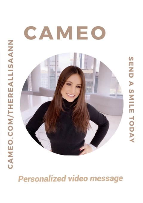 A personalized video message from @BookCameo  if the perfect gift for any occasion. I have a ton of fun