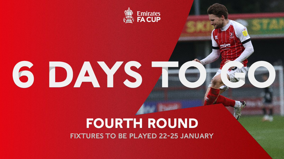 The countdown is 🔛  #EmiratesFACup