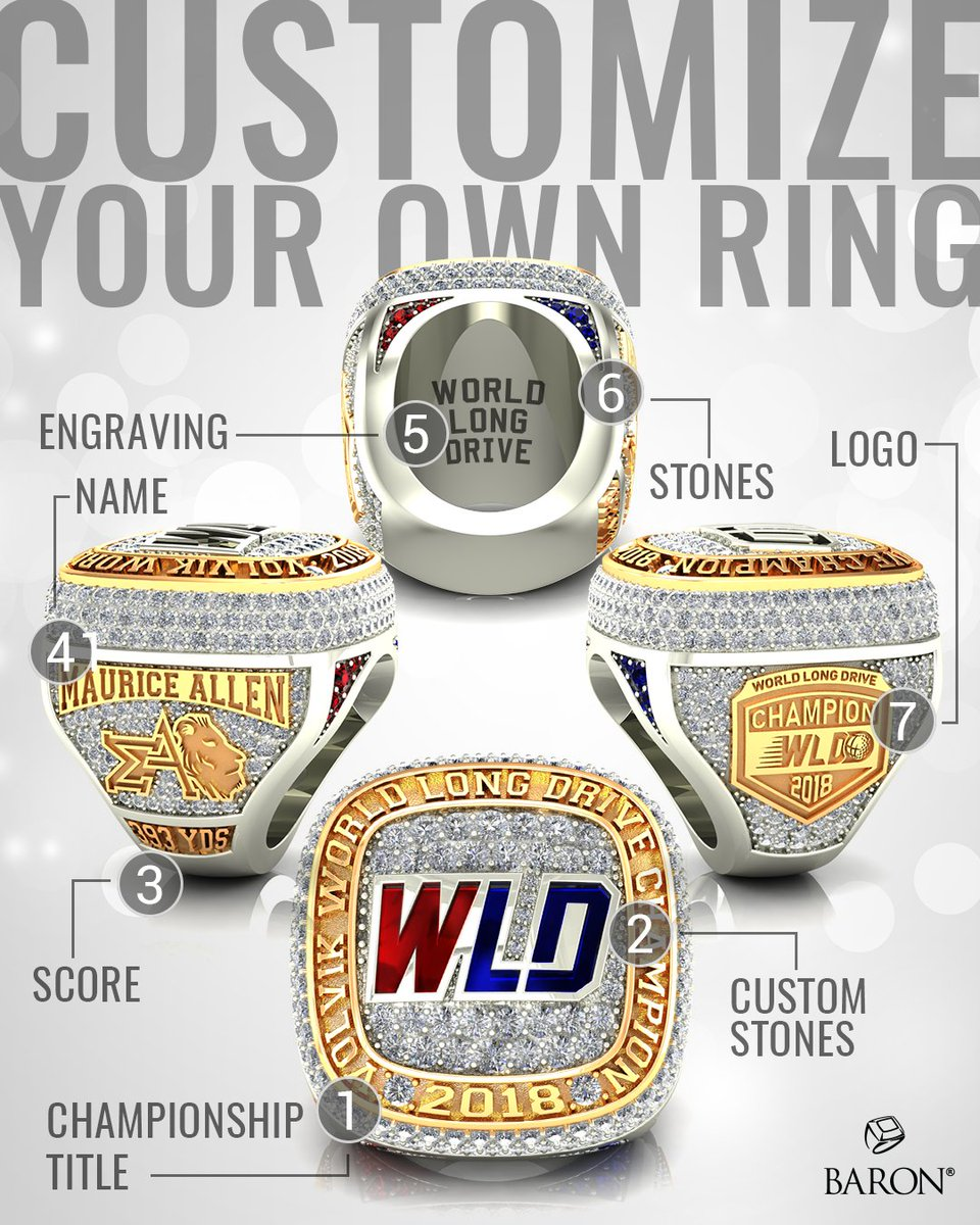 Did you know we also make Individual Rings? ✨ Create your very own custom and unique statement piece, email sales@baronrings.com today! 💍  #baronrings #baron2021 #baronchampionshiprings #rings #championshiprings #champrings #championship #individual #unique #oneofakind