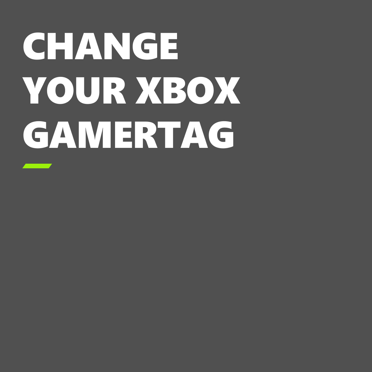 """When you snagged a """"Baby Yoda"""" gamertag name during Season 1 but want to change it after this season (❗ no spoilers ❗), this is the way."""