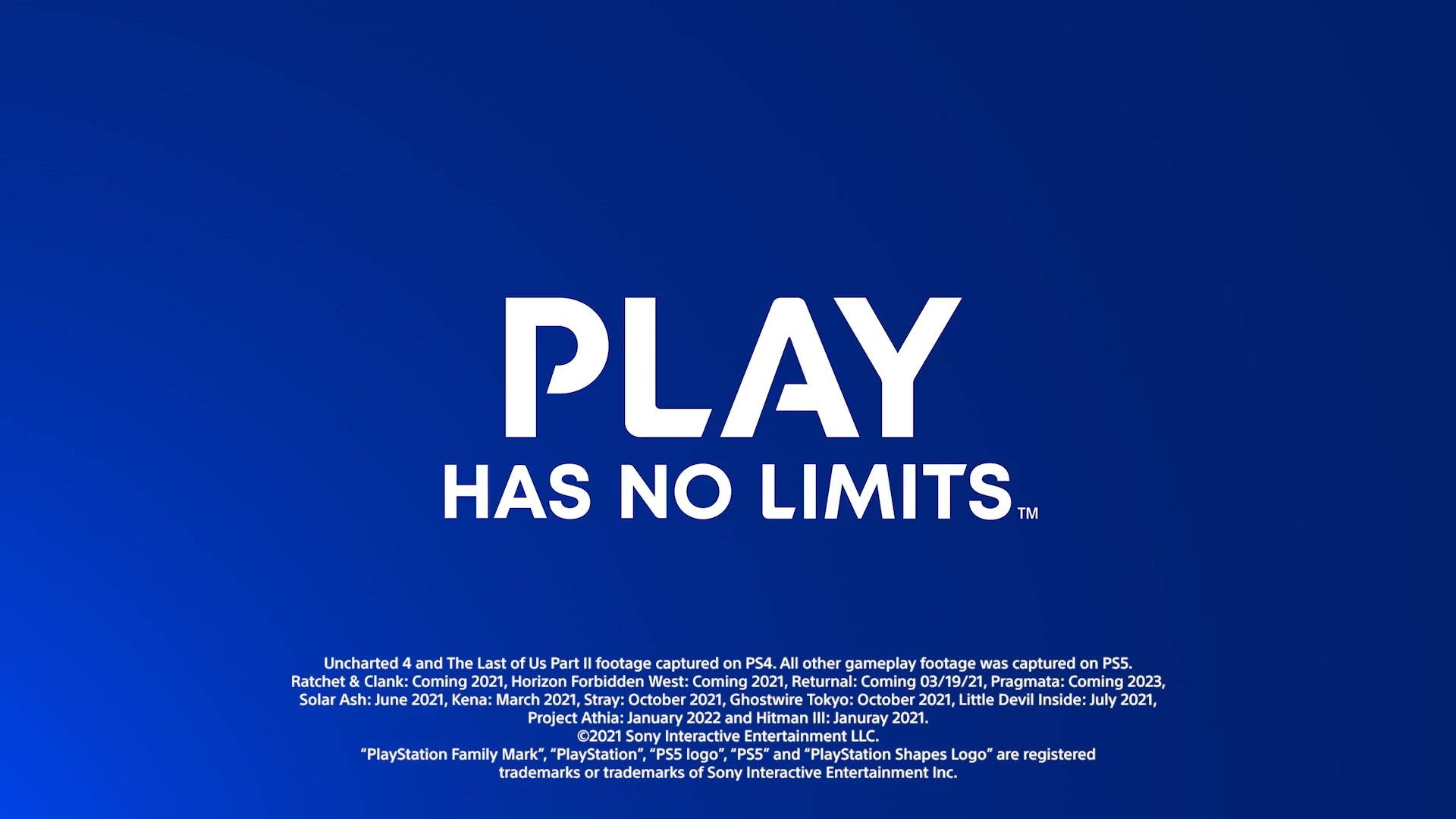 Sony elimina las fechas de lanzamiento de varios juegos en su vídeo del CES 2021