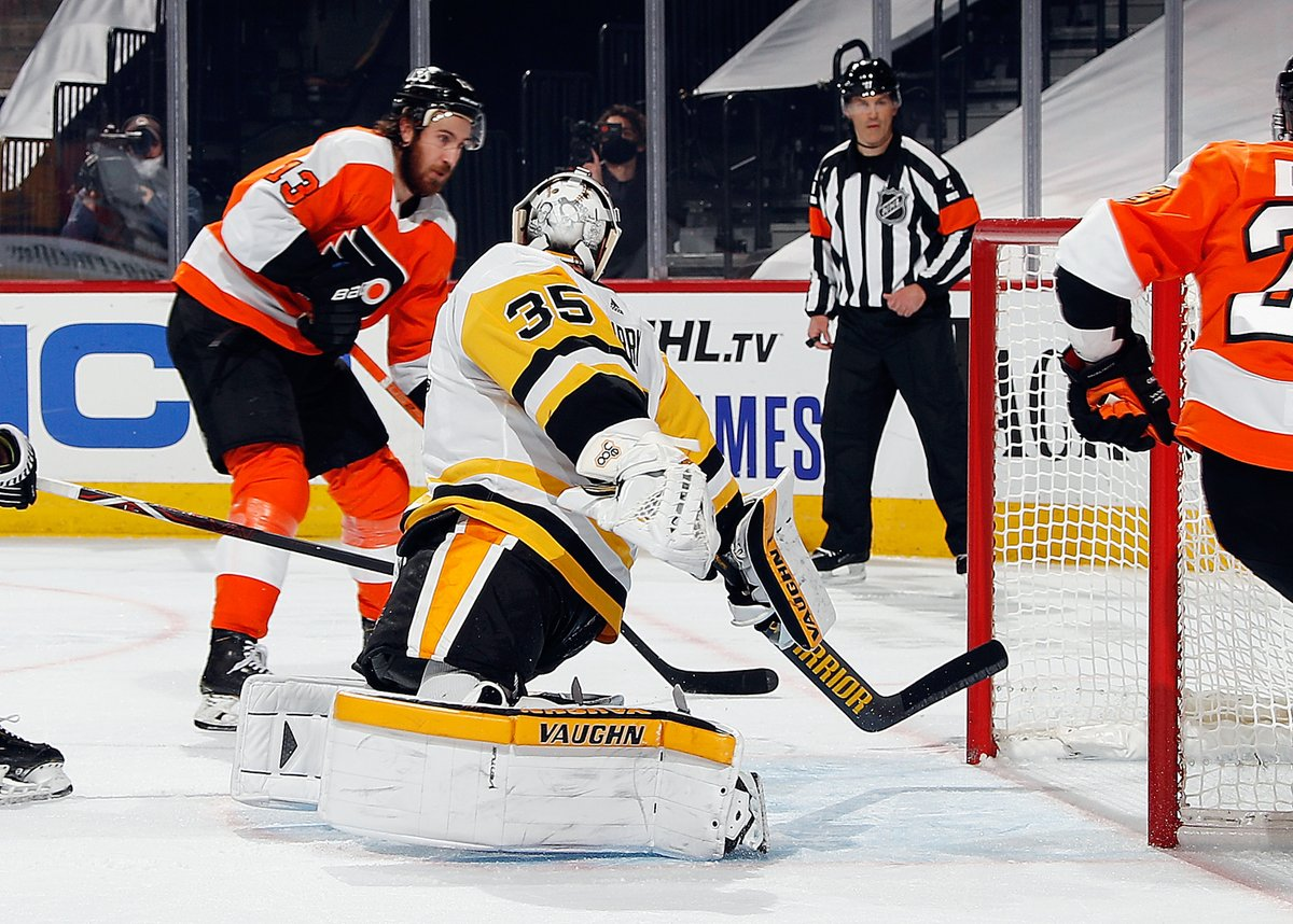 The #Flyers are back on the ice tonight for another meeting against the Pittsburgh #Penguins.  PREVIEW:   #FlyersTalk #AnytimeAnywhere @973espn