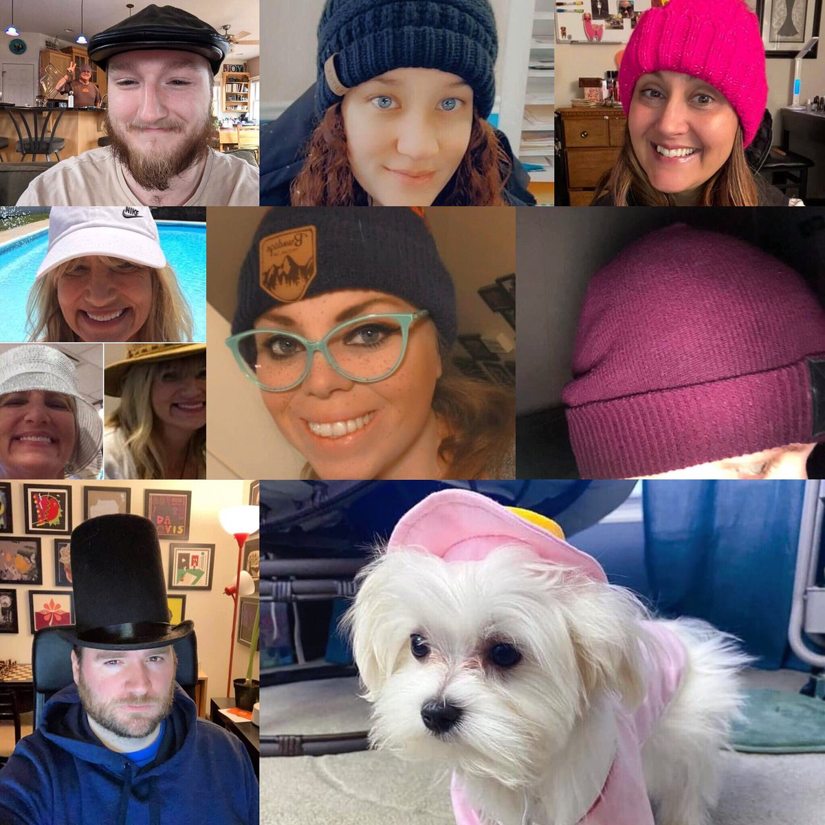 Today #RitterNation sported our favorite hats! What's yours? Tweet us a picture! #NationalHatDay