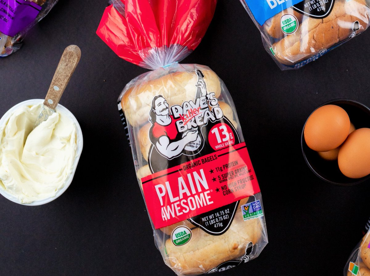 Replying to @KillerBread: They just hit different today. Like it's National Bagel Day or something. 😉🥯 #plainawesomest