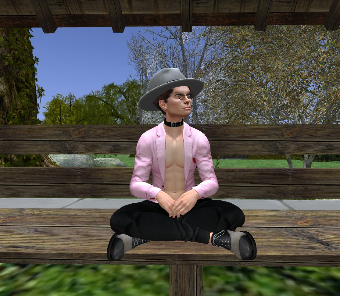 @SecondLife This is me celebrating #NationalHatDay in #SecondLife. #SecondLifeChallenge