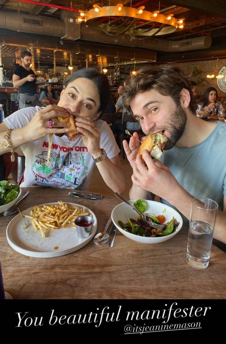 Jake on IG's story with @itsjeaninemason  Happy Birthday JM @GreysABC #friendship https://t.co/Hh22K55UFc
