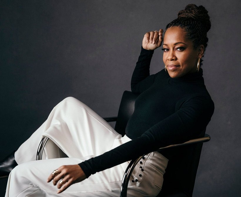 It's a monumental day for Regina King. Not only is her directorial debut #OneNightInMiami now available to stream on #PrimeVideo, it's her 50th birthday. She is a blessing. 🥳