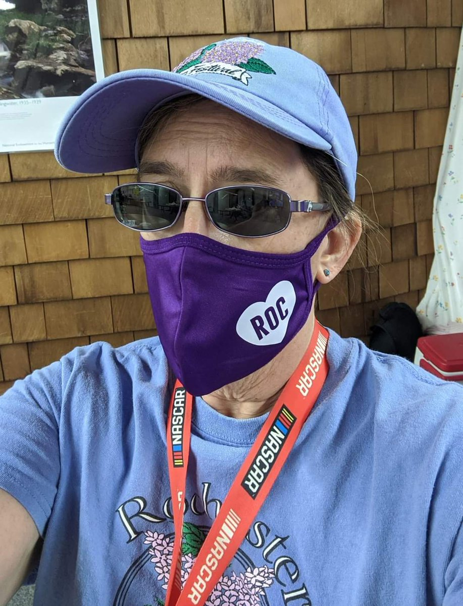 Repping the #ROC today for #NationalHatDay... Got my purple ROC mask for Christmas from my family in Rochester, NY.  #GoBills #BillsMafia