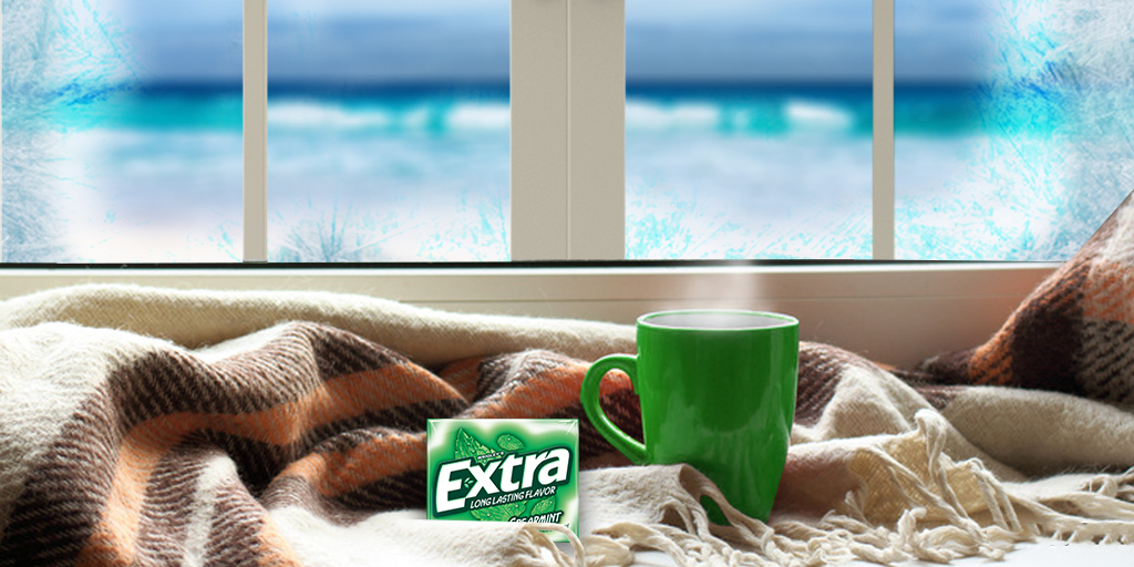 Replying to @ExtraGum: When you live in a place where it doesn't snow, you gotta make your own winter wonderland.