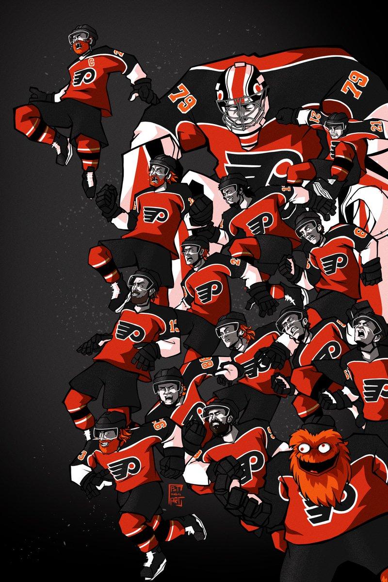 RT @patmakesart: ANYTIME, ANYWHERE.  #Flyers #NHL #AnytimeAnywhere https://t.co/Xe3SOkuHZb